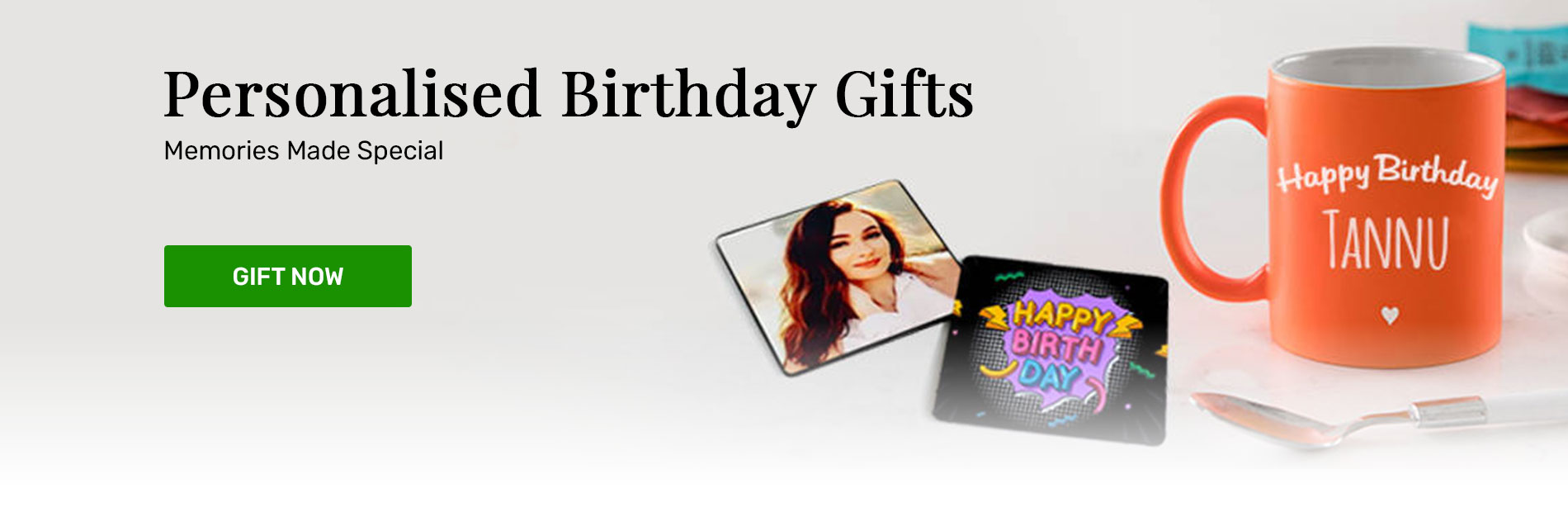 Birthday personalised gifts