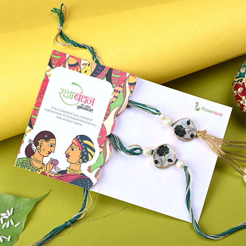 Online Rakhi with cards