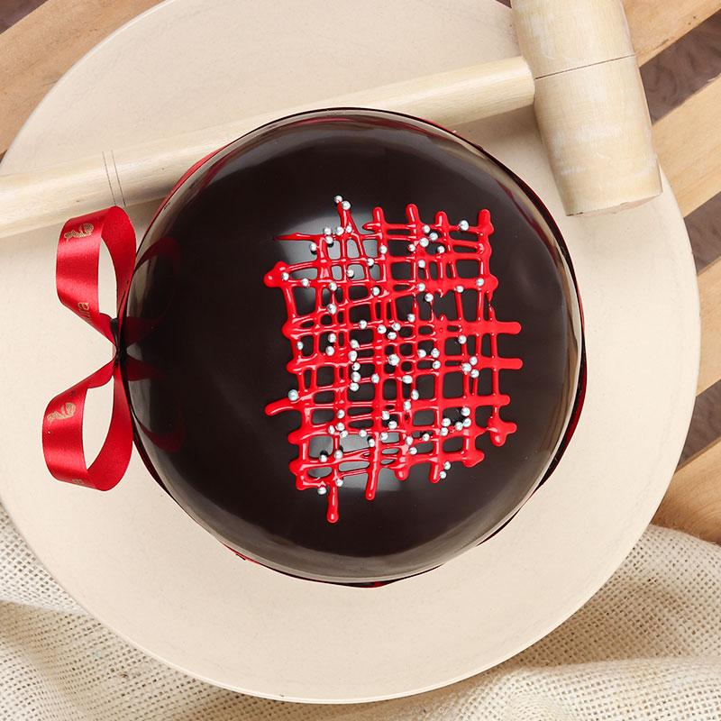 Black Forest Pinata Cake for Birthday