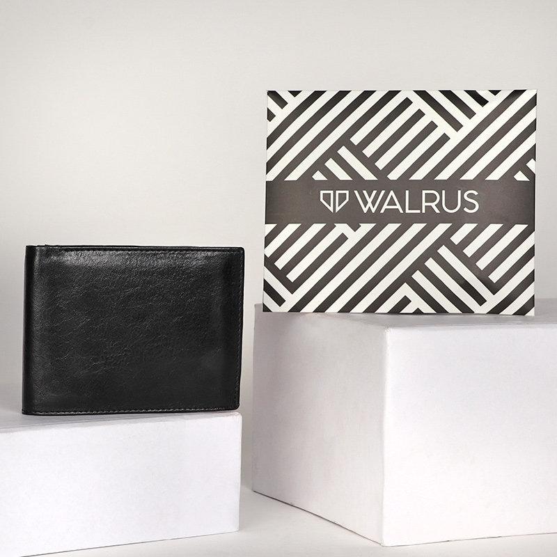 Black Leather WalletA Premium Wallet