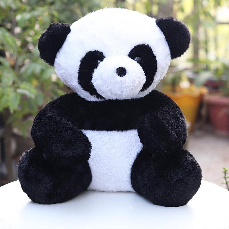 Black n' White Panda Valentine Soft Toy Gift