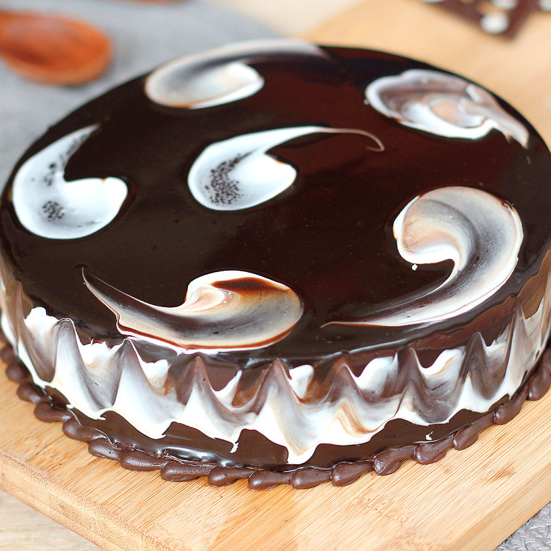Choco Marvel Cake - Zoom View