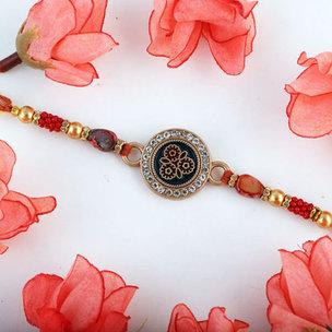 Bloomingly Delicate Rakhi