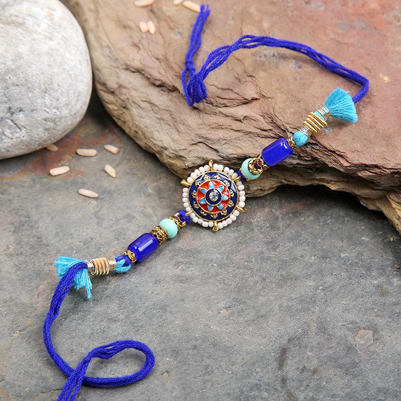 Blue Beauty Rakhi