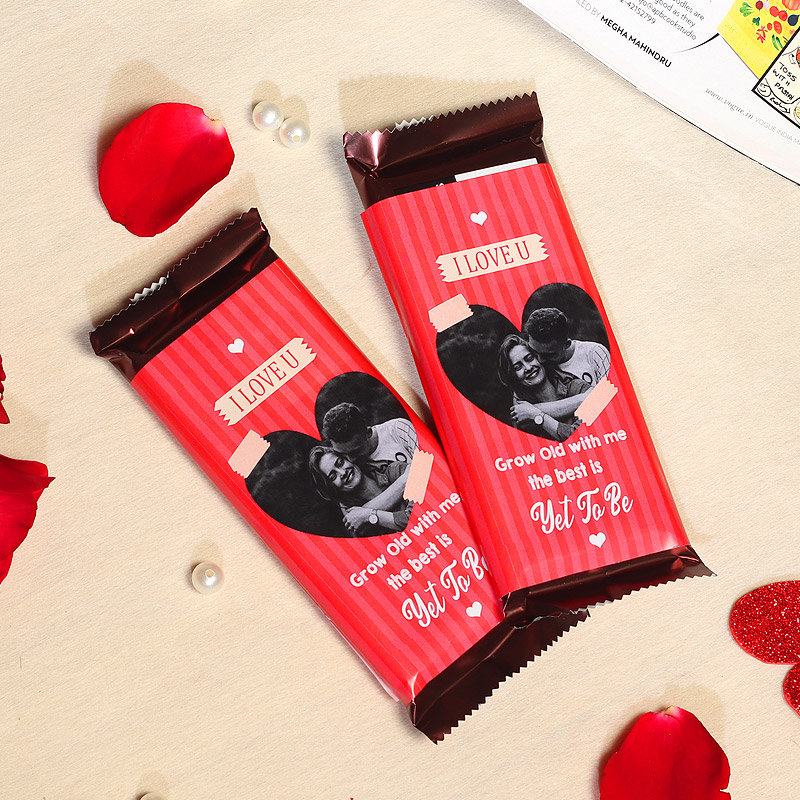 Bound to Love Personalised Cadbury Chocolates