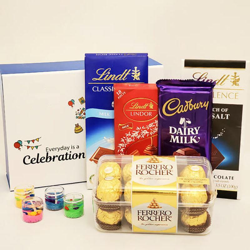Branded Chocolates N Designer Lights