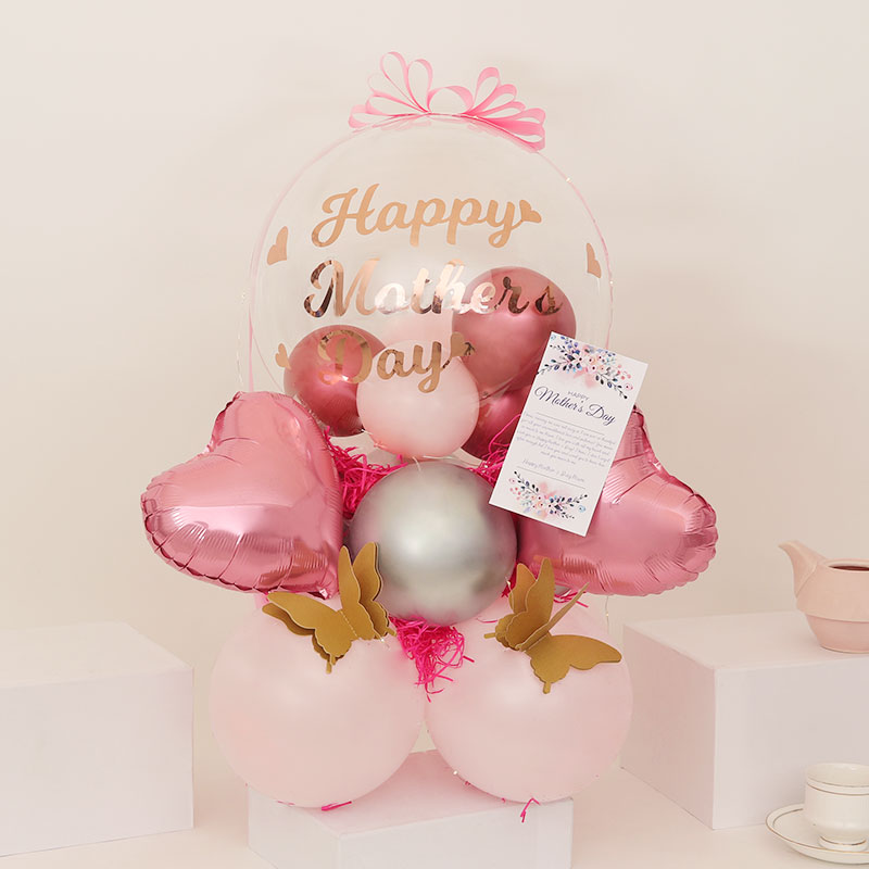 Bubbling Mothers Day Balloons
