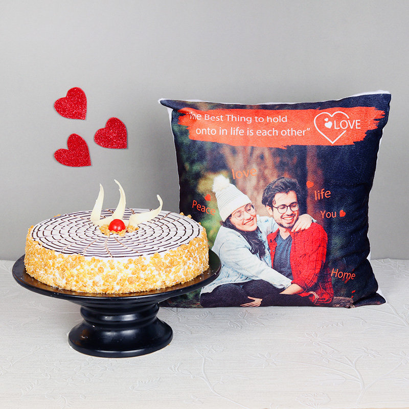 Butterscotch and Cushion Combo