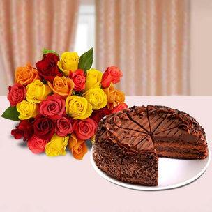 Cake Roses Duet