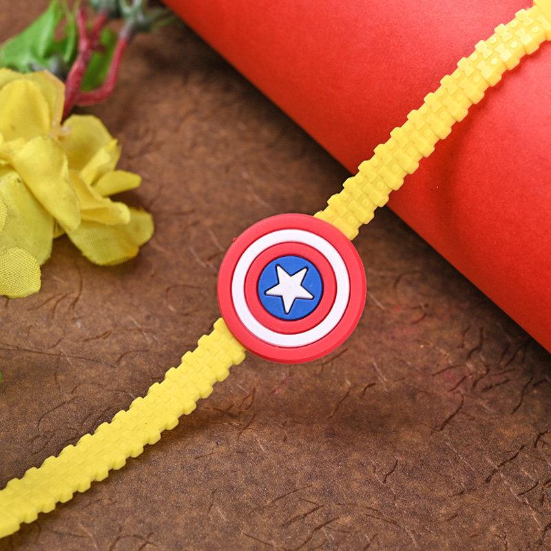 Captain America Kid Rakhi - One Cartoon Rakhi