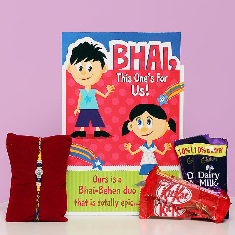 Card N Chocolate Rakhi