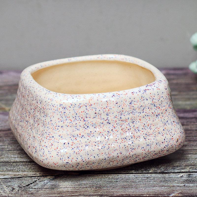 Ceramic Square Vase