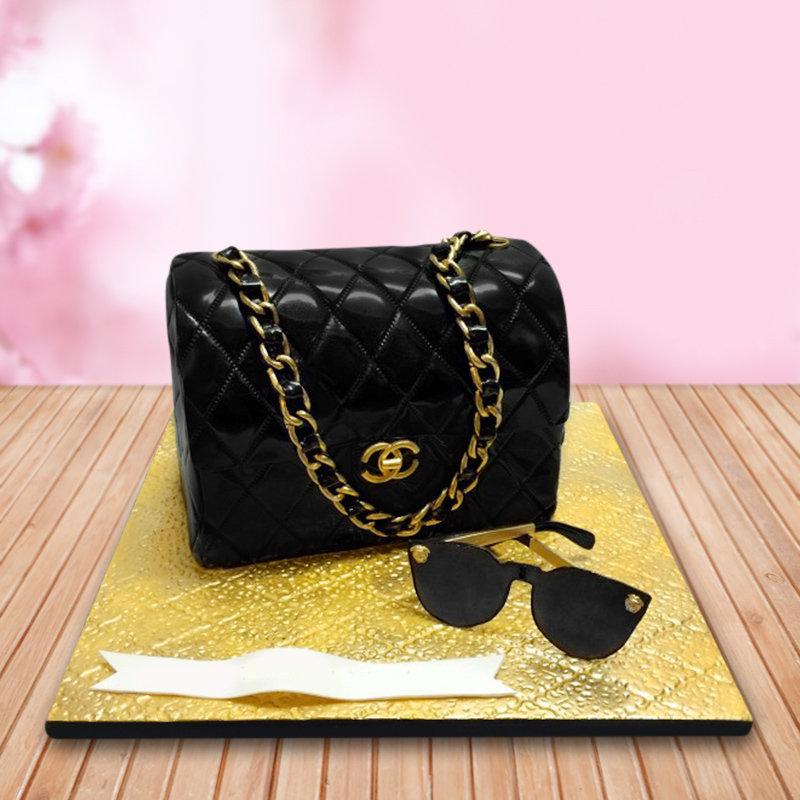 Chanel Versace Theme Cake