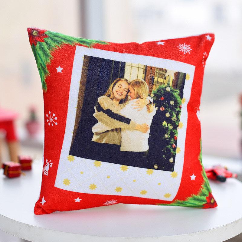 Charming Christmas Cushion - Personalised Christmas Cushion