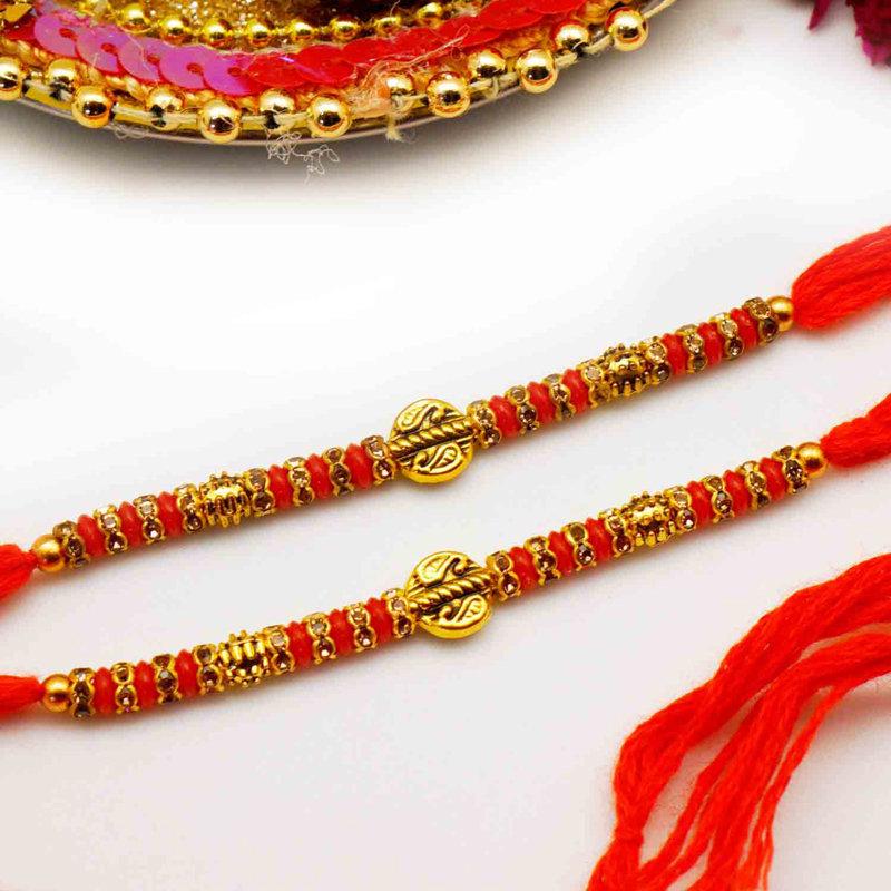 Cheerfully stunning Rakhi combo