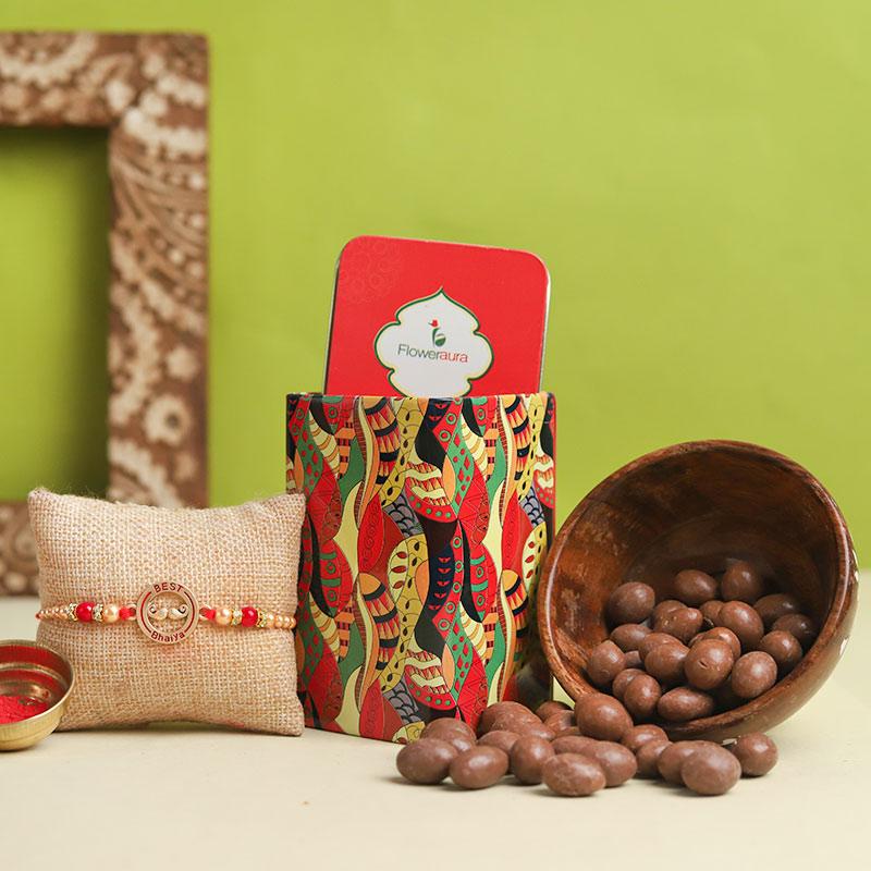 Choco Bro Rakhi Tin Box