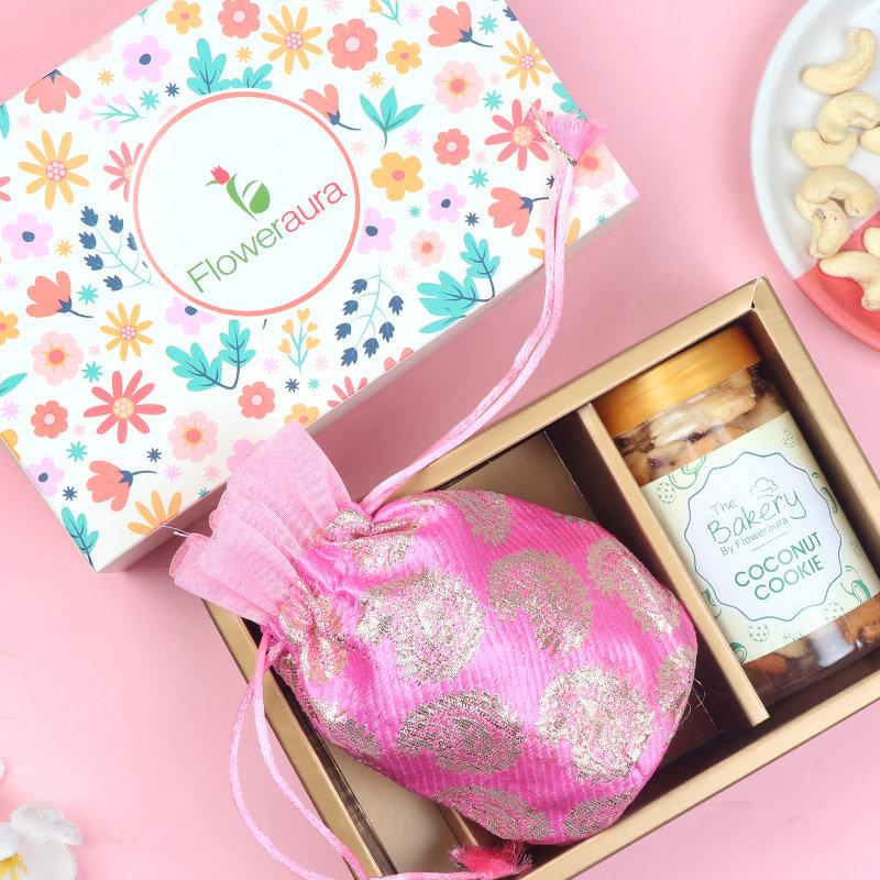 Choco Dry Fruit Signature Box - A Deepavali Gift Box