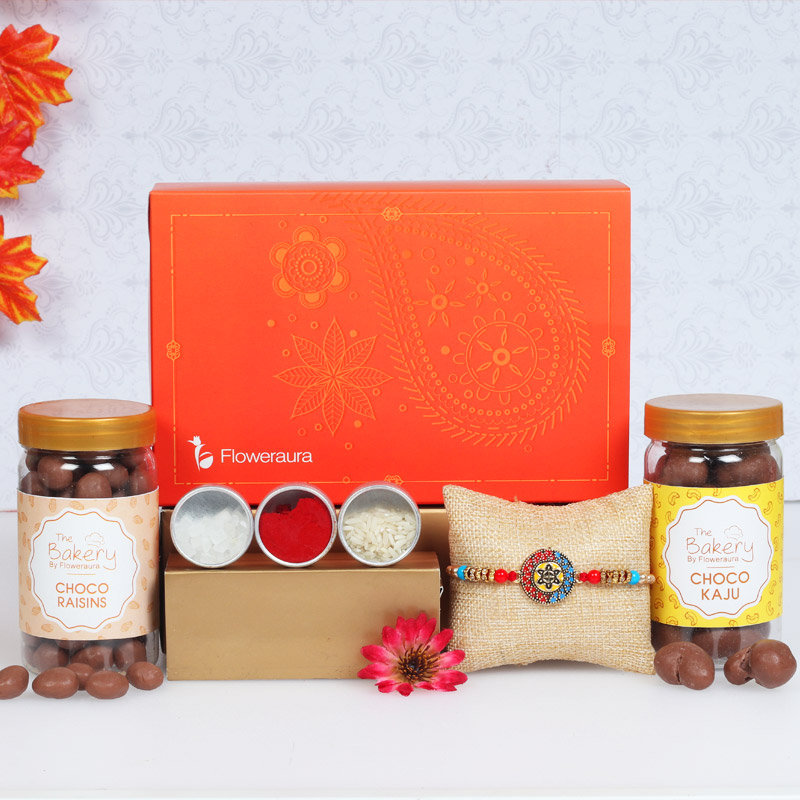 Choco Filled Rakhi Signature Box