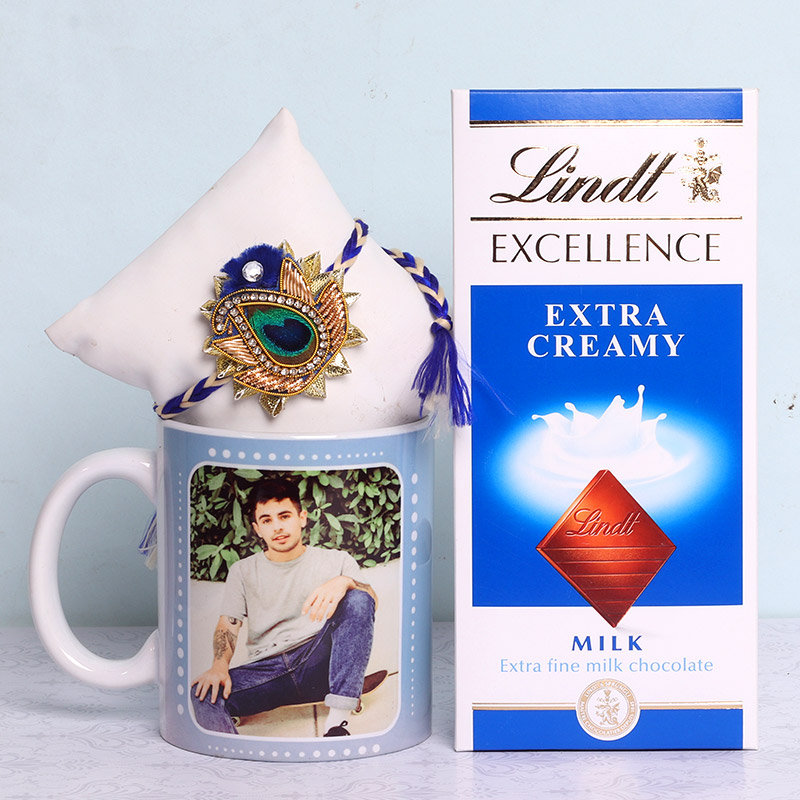 Choco Mug Rakhi Combo