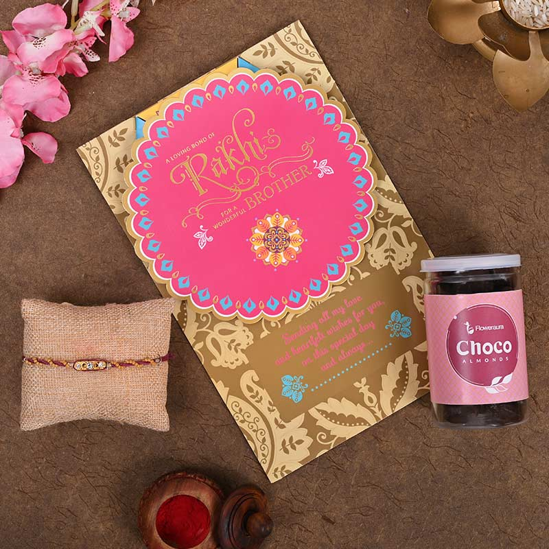 Choco Nutty Rakhi Pack