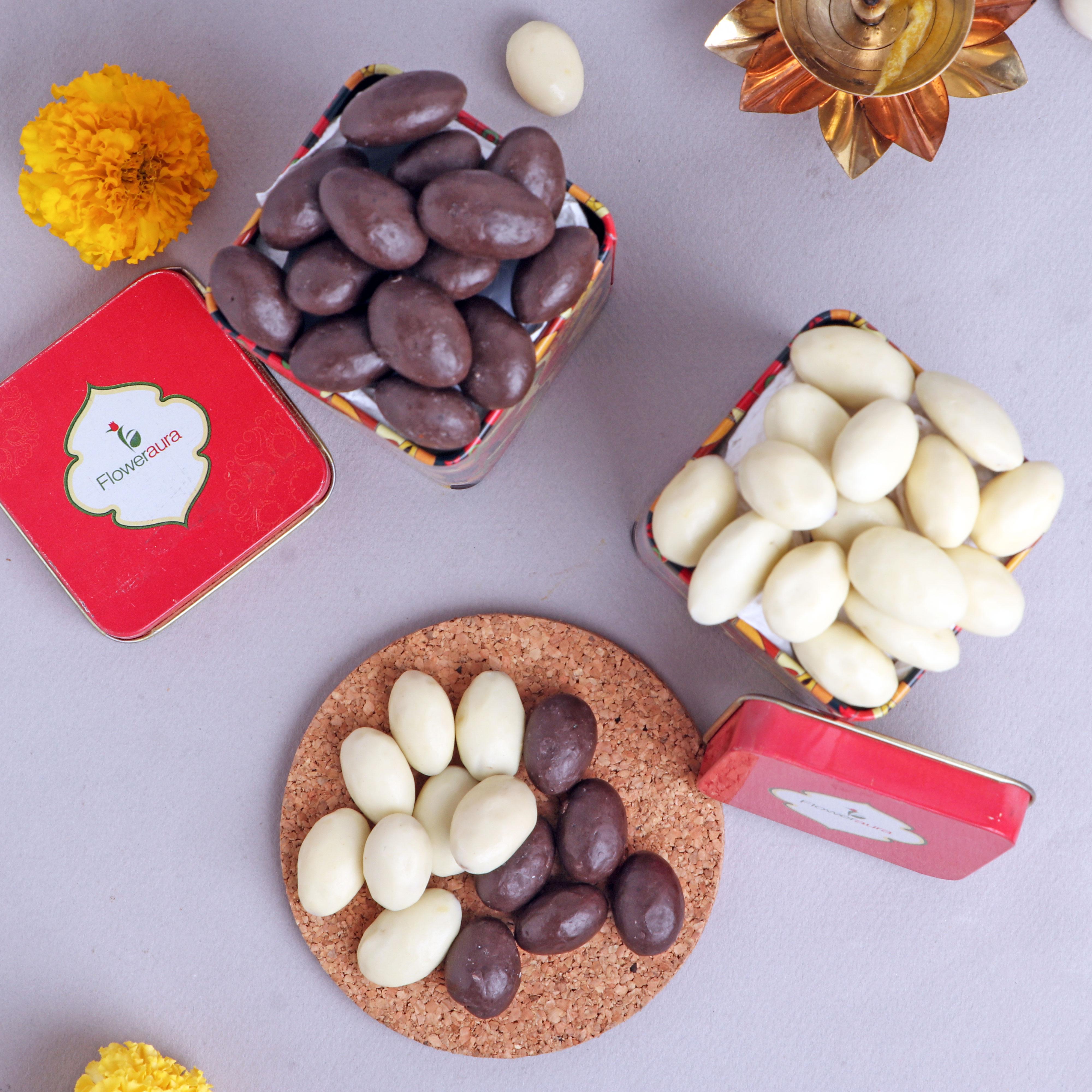 Order Online Choco & Rabri Almonds Boxes