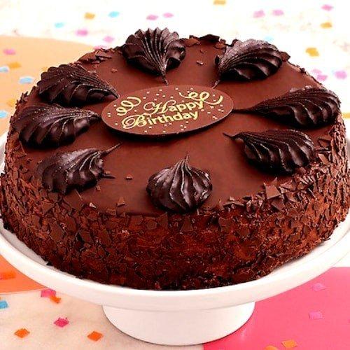 Chocolate Mousse Cake - Birthday Chocolate Mousse Cake