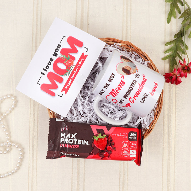 Chocolate N Mug Basket