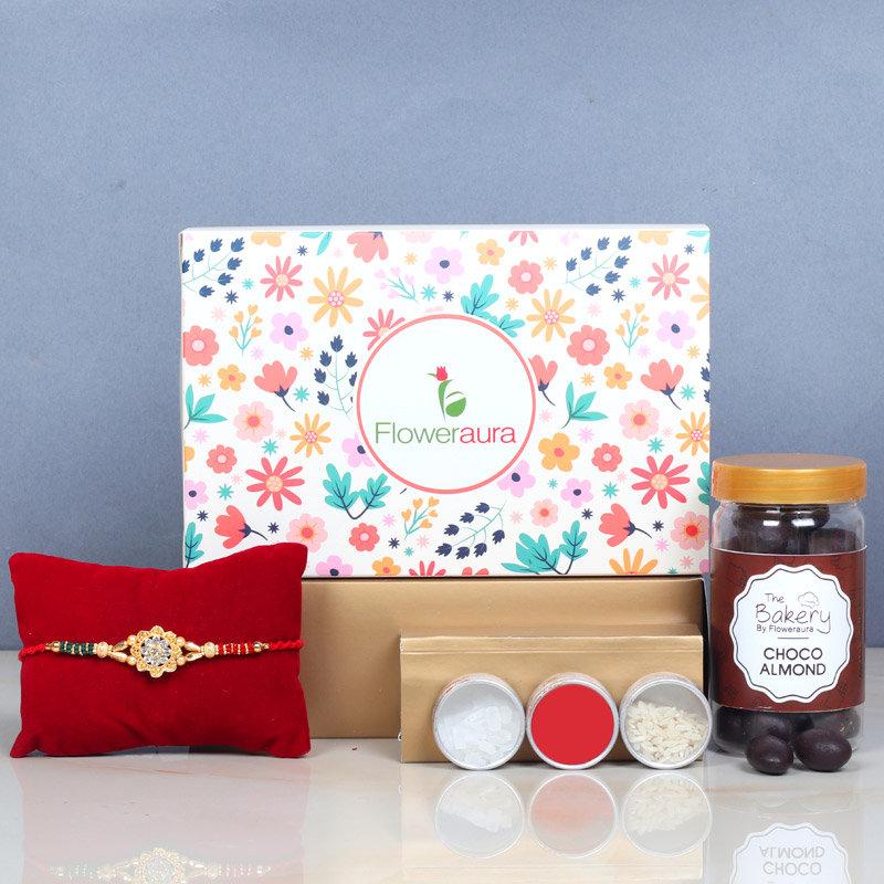 Chocolate Rakhi Combo - Rakhi Signature Boxes