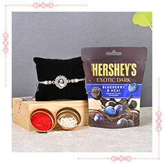 Rakhi with Chocolates Express Delivery