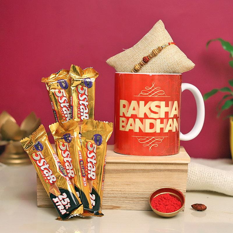 Chocolates Mug N Rakhi