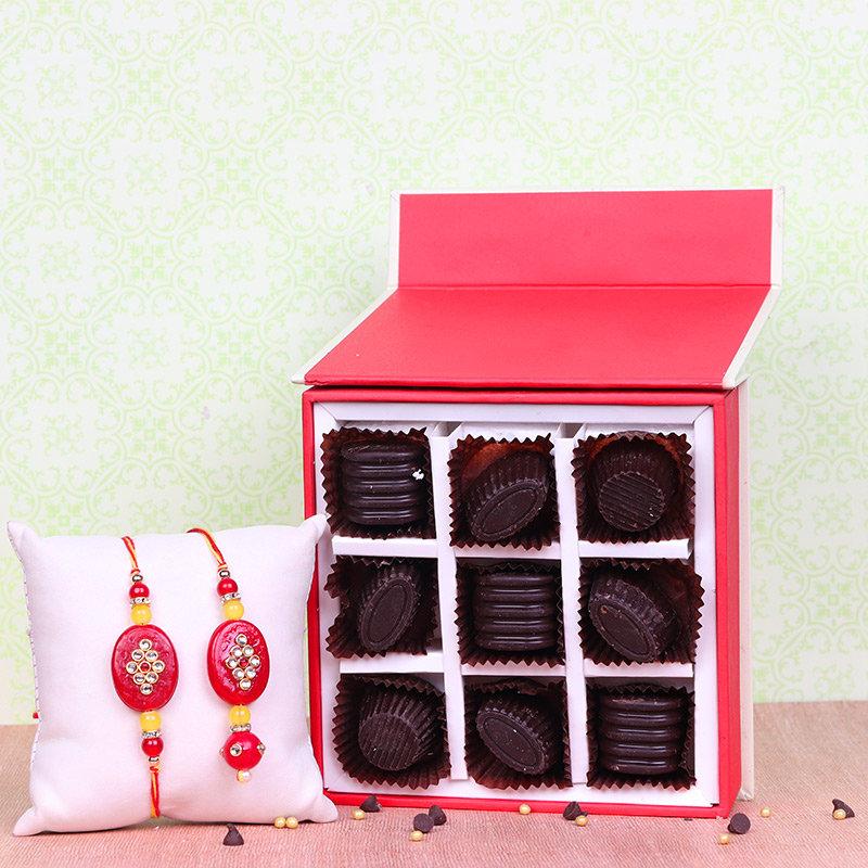 Chocolatey Lumba Rakhi Hamper