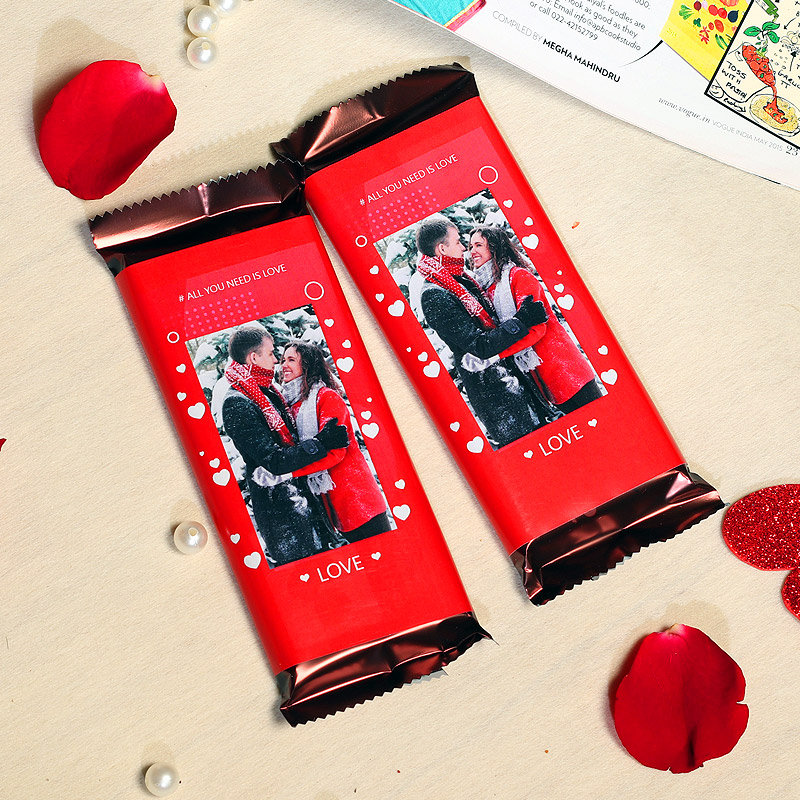 Chocolate Fantasy Personalised Valentine Chocolate Gift
