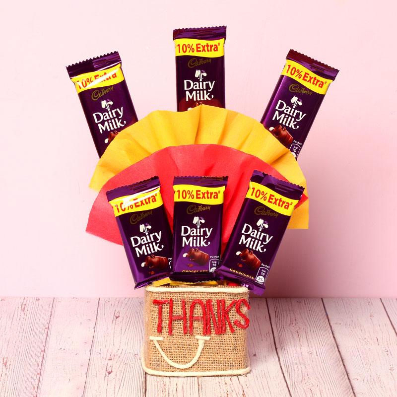 Thanks Chocolate Bouquet