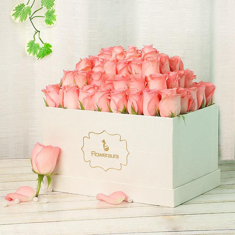 Cinderella Magic - A Wonderful Pink Rose Arrangement