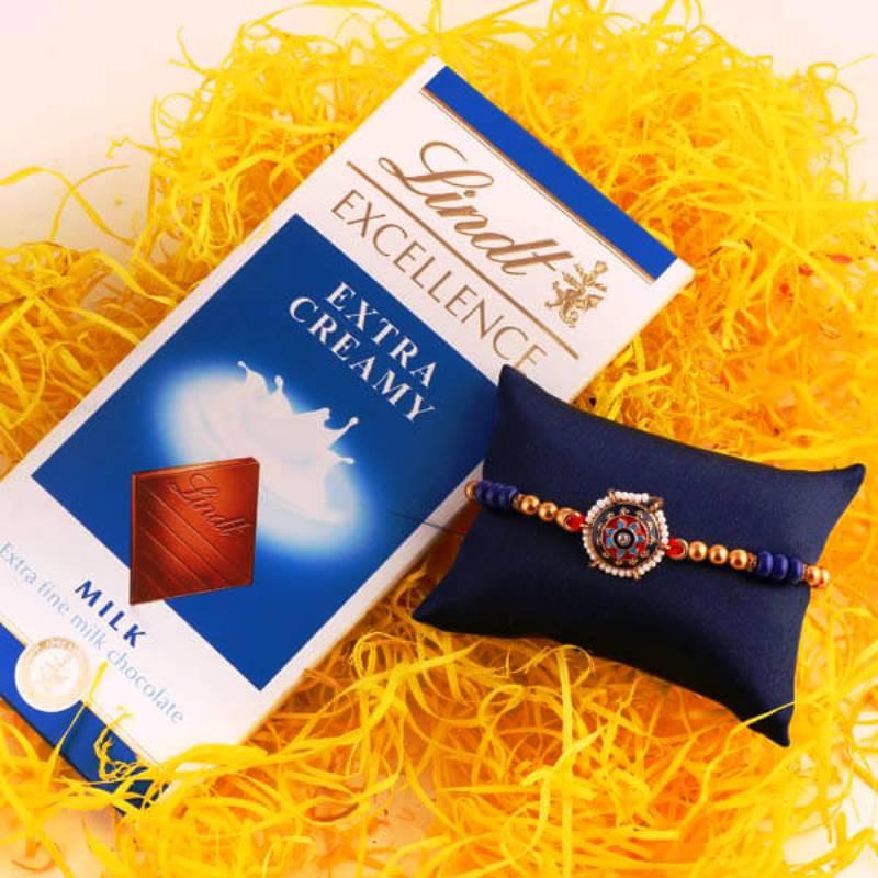 Classic Rakhi N Chocolate Combo