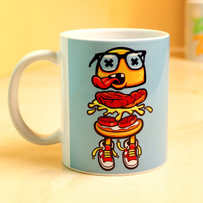 Coffee Mug for Foodies - A Perfect Birthday Gift for Foodie Husband