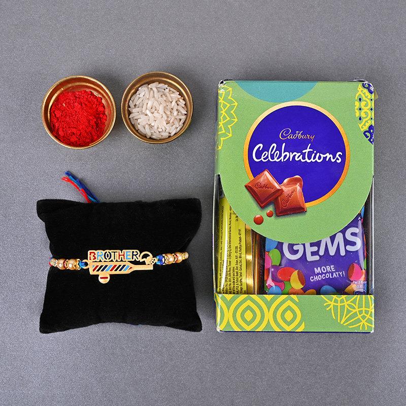 Colourful Celebrations Rakhi set