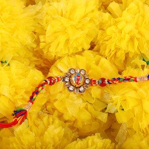 Colourful Ganesh Rakhi