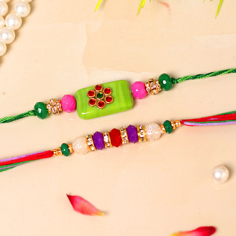 Colourful Rakhi Sets