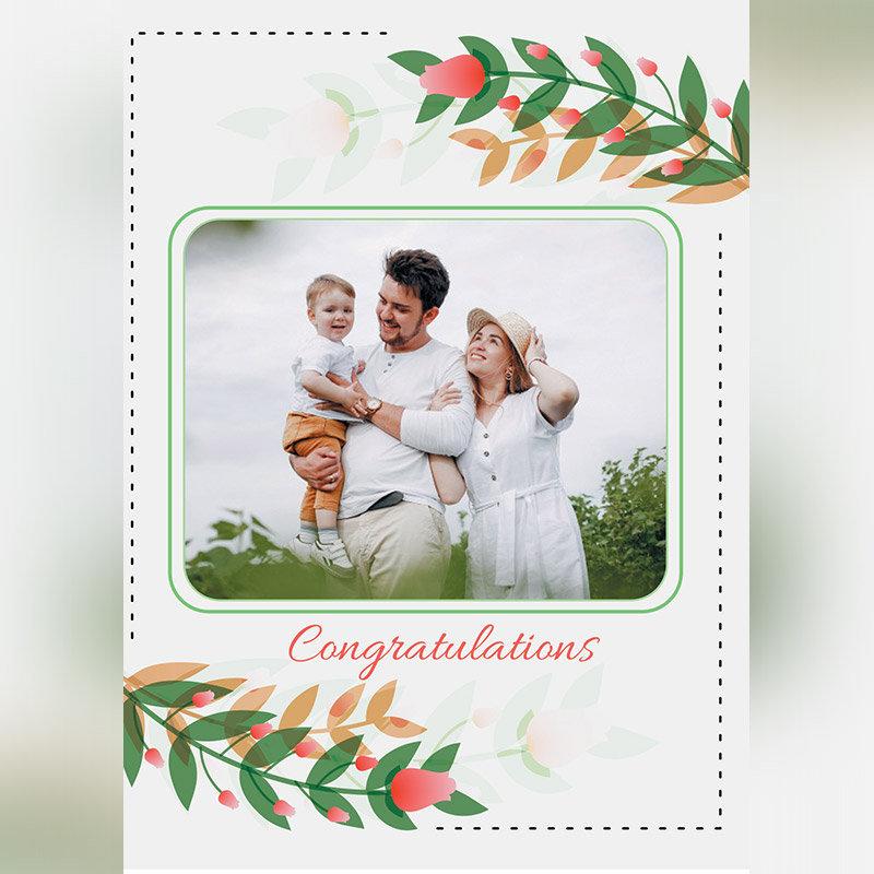 Personalised Congratulations Dear E Card