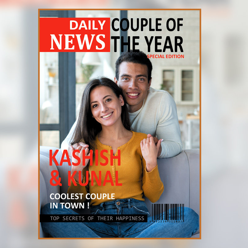 Personalised Digital Magazine for Couple