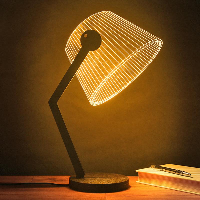 Cozy Led Hologram Lamp