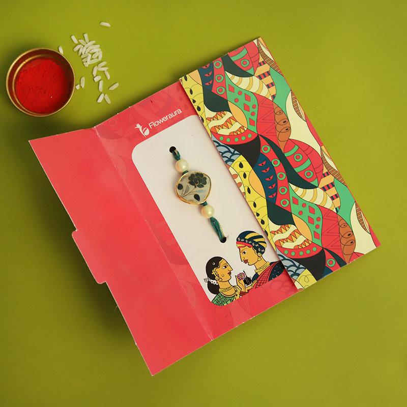 Photo Custom Rakhi Cake Combo
