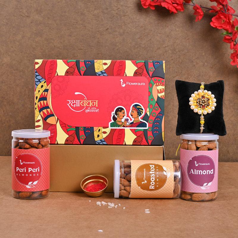 Crunchy FA Rakhi Signature Box - One Designer Rakhi