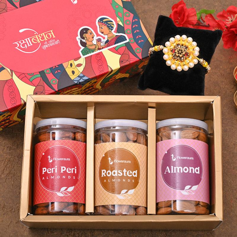 One Designer Rakhi - Crunchy FA Rakhi Signature Box