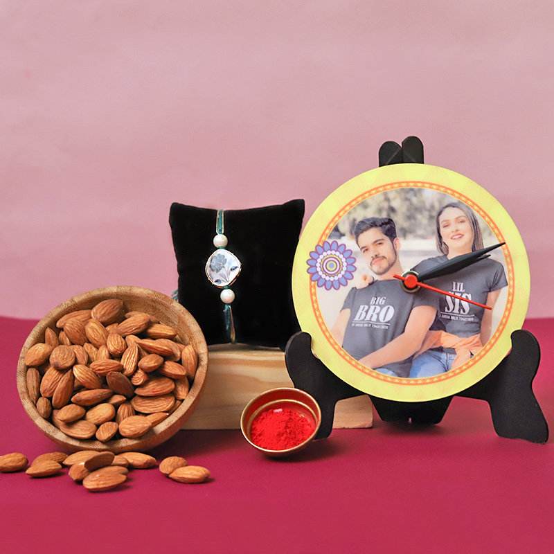 Crunchy Personalised Rakhi Hamper