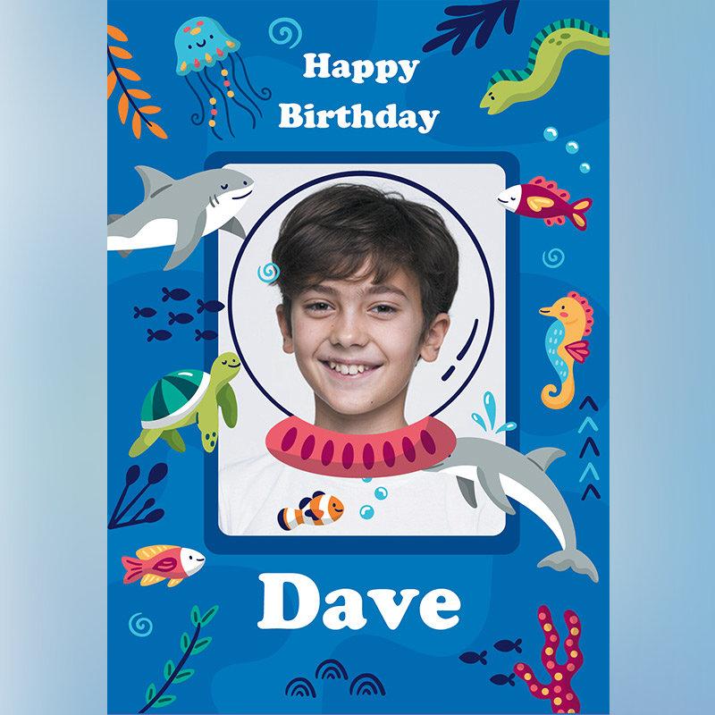Customised Birthday E-Cards