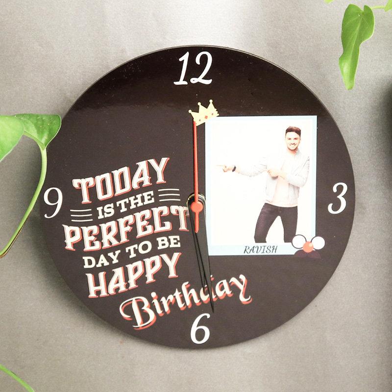 Custom Birthday Wall Clock