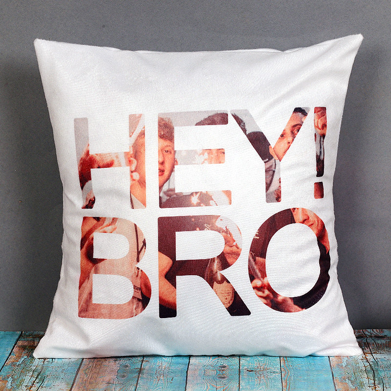 Personalised Cushion for Bro