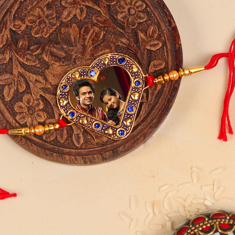 Product in Custom Choco Rakhi Combo